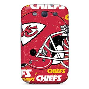 For SNX8437kXHh Kansas City Chiefs Protective Case Cover Skin/galaxy S3 Case Cover