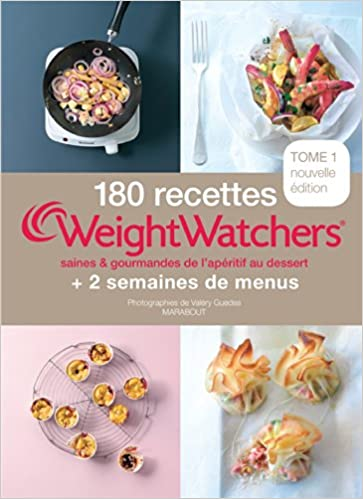 180 recettes weight watchers tome 1. Black Bedroom Furniture Sets. Home Design Ideas