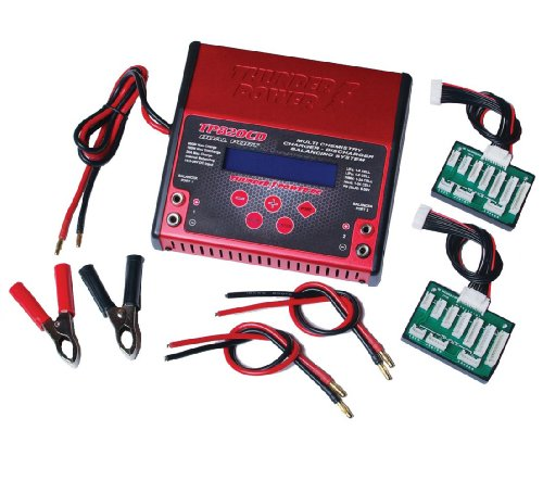 (Thunder Power RC TP820CD 800 Watt Dual Port Multi-Chemistry DC Charger/Discharger/Cycler with Balancing System)