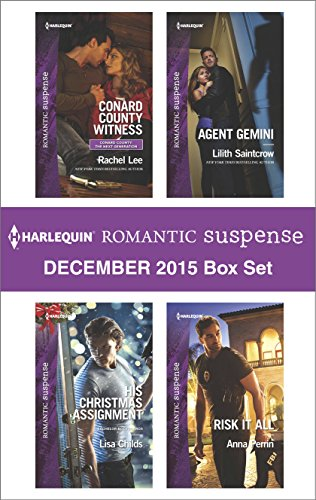 book cover of Harlequin Romantic Suspense December 2015 Box Set