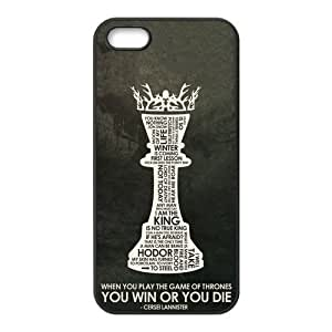 the Case Shop- Customizable Game of Thrones Fan Art iPhone 5 and iPhone 5S TPU Rubber Hard Back Case Cover Skin , i5xq-411