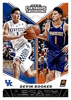 2019-20 Panini Contenders Draft Picks Legacy #23 Devin Booker Kentucky Wildcats/Phoenix Suns Basketball Card