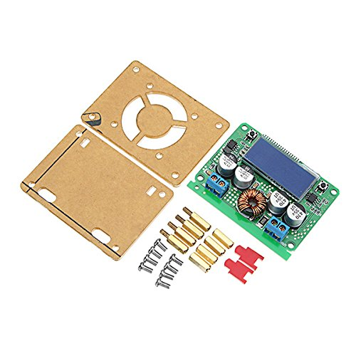 ILS - 7A DC 60V Adjustable Step Down Regulator NC Power Supply Module Current Voltage Meter Buck Module