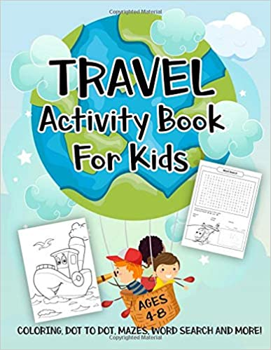 The Travel Activity Book for Kids travel product recommended by Vanessa Bush on Lifney.
