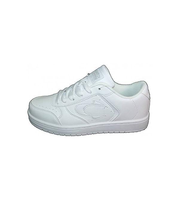 John Smith Vogan Zapatillas Blancas Unisex Casual: Amazon.es: Zapatos y complementos