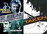Liam Neeson 3-Movie Action Collection - Taken, Run All Night & Unknown 3-DVD Bundle