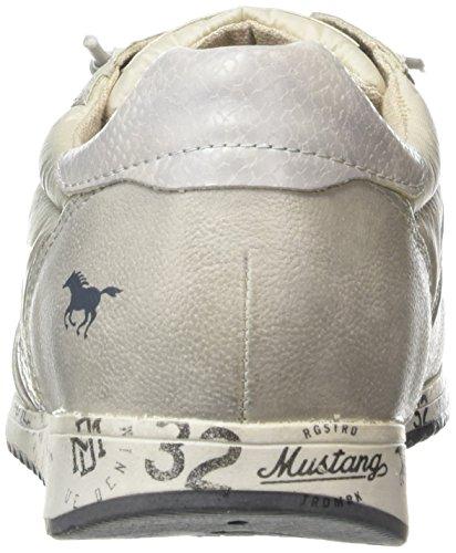 Mustang 1226-401 - Zapatillas de casa Mujer Gris (22 Hell Grau)