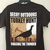 Decoy Outdoors MEDIUM ''Chasing The Thunder'' Turkey Hunting T-Shirt