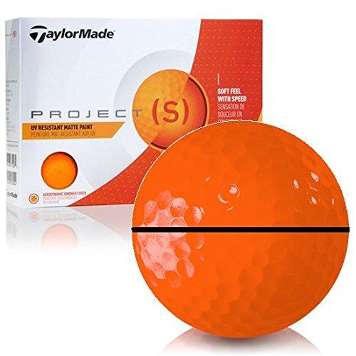 Taylor Madeプロジェクト(S) マットオレンジalignxl Personalizedゴルフボール B07D5HSZJJ