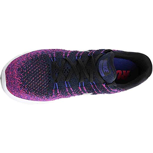 Black Low Flyknit Nike 8 Silver 2 UK Men's Lunarepic Reflect wgfxAAqaZT