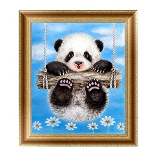 Arich Cute Panda 5D Diamond Painting Embroidery Cross Stitch DIY Art Craft Home Wall Decor