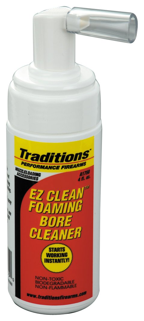 Traditions Performance Firearms EZ Clean Muzzleloading Foaming Bore Solvent (4 -Ounce) by Traditions