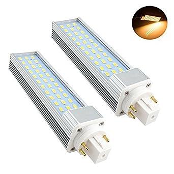Bonlux 2 Pack 13w Gx24 Rotatable Led Plc Lamp G24q Gx24q 4