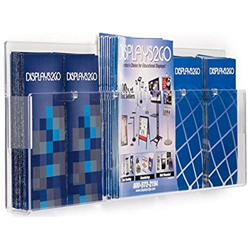 Cheap Displays40go Acrylic Wall Brochure Rack Pamphlet And Magazine Fascinating Magazine Holders Cheap
