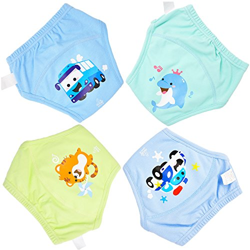 Training Pants 4 Packs Potty Training Underwear For Toddler Boy-4T-5T-XL