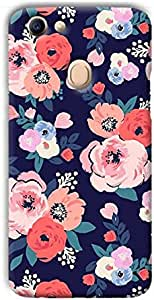 Printed Back Cover For Oppo F7 - Multi Color