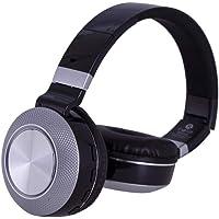 Fone de Ouvido Inova para Android e IOS com Bluetooth, MP3, WMA, Rádio FM, TF - Prata