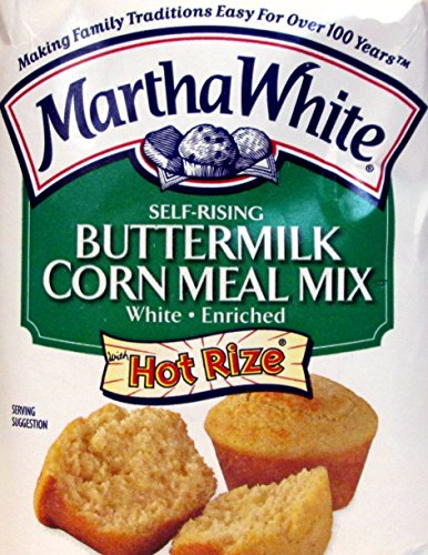 (Martha White Self-Rising Buttermilk Corn Meal Mix (Pack of 2) 2 Pound Bags)