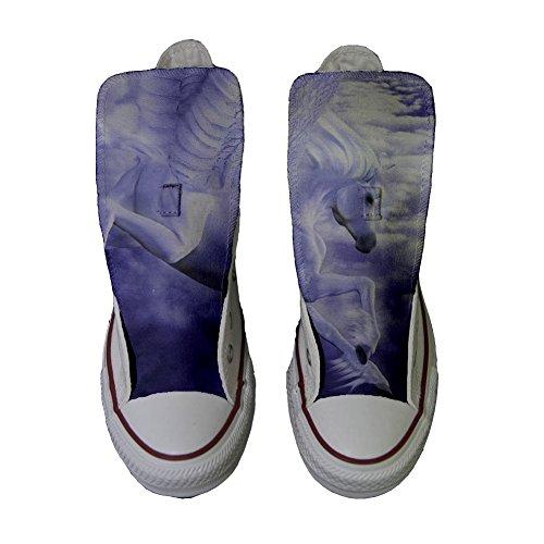 Scarpe Converse All Star personalizzate (scarpe artigianali) Pegaso