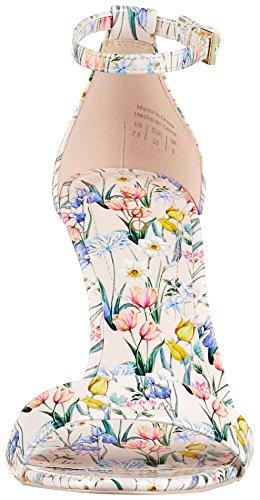 Femme Ouvert Rose Botanical Floral Cally Blush Sandales ALDO Print Pink Bout wf4HUq