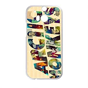 Rockband Modern Fashion Guitar hero and rock legend Phone Case for HTC One M8