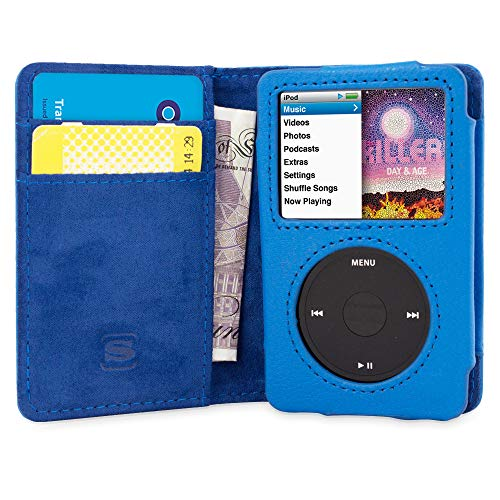 PU Leather Flip Case For iPod Classic 6th Generation /& Later 80GB 120GB 160GB