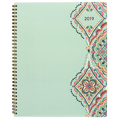 Brands Acco Planner (at-A-Glance Weekly/Monthly Planner, January 2019 - December 2019, Large Size, Marrakesh, Light Green (182-905))