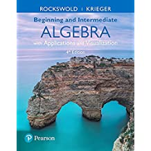 Amazon terry a krieger books mymathlab with pearson etext standalone access card for beginning and intermediate algebra with applications visualization 4th edition fandeluxe Image collections