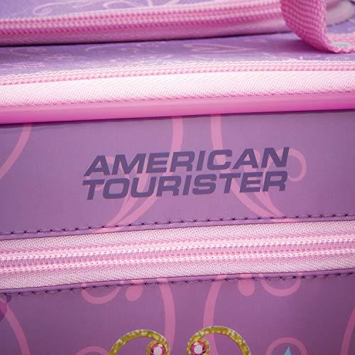 American Tourister Disney Kids Princess Softside Upright, 18 Inch, 2