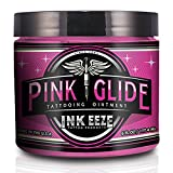 INK-EEZE Tattoo Products Pink Glide Tattoo Ointment 6 oz.