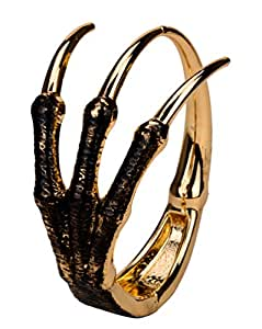 Angel Jewelry Women's Skeleton Hand Bangle Bracelet