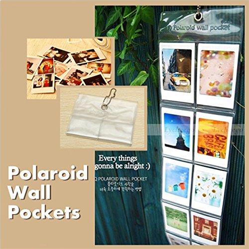 Polaroid Camera Photo Album Wall Pockets Hanging Decor Ornam