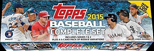 Complete Base Card Set - 2015 Topps MLB Baseball Factory Sealed Set Retail Version Which Includes a Bonus Pack of 5 EXCLUSIVE Rookie Cards Featuring Kris Bryant