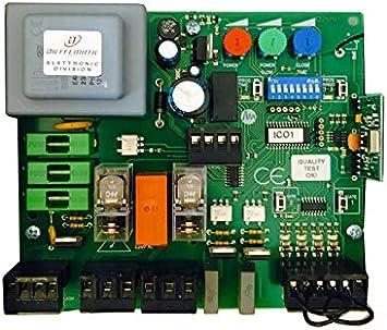 Placa centralita Cuadrada Universal para Puerta abatible N 2 Motores 230 Vac: Amazon.es: Bricolaje y herramientas