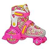 Roller Derby Girl's Fun Roll Adjustable Roller Skate, Medium