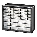 IRIS USA, Inc. DPC-44 44 Drawer Parts and Hardware Cabinet, Black