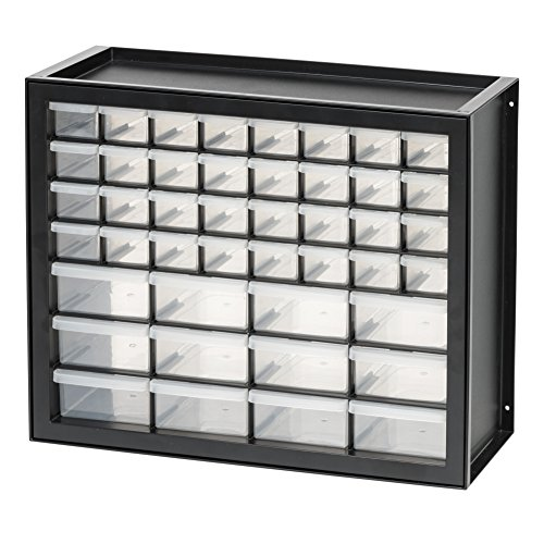 IRIS USA, Inc. DPC-44 44 Drawer Parts and Hardware Cabinet, Black