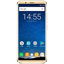 Generic OUKITEL K5000, 4GB+64GB, 21.0MP Front Camera, 5000mAh Battery, Fingerprint Identification, 5.7 inch 2.5D Android 7.0 MTK6750T Octa Core up to 1.5GHz, Network: 4G, Dual SIM, OTG (Gold)
