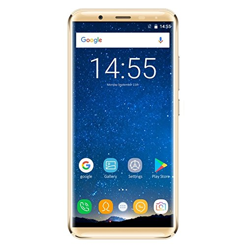 OUKITEL Generic K5000, 4GB+64GB, 21.0MP Front Camera, 5000mAh Battery, Fingerprint Identification, 5.7 inch 2.5D Android 7.0 MTK6750T Octa Core up to 1.5GHz, Network: 4G, Dual SIM, OTG (Gold)