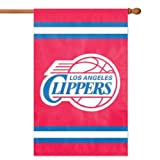 Party Animal NBA Sports Team Logo Los Angeles Clippers Applique Banner Flag 44'' x 28'' by Party Animal
