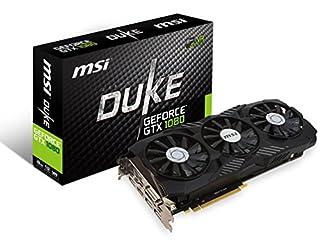 MSI Gaming GeForce GTX 1080 8GB GDDR5X SLI DirectX 12 VR Ready Graphics Card (GTX 1080 DUKE 8G OC) (B06XGMJJ2K) | Amazon price tracker / tracking, Amazon price history charts, Amazon price watches, Amazon price drop alerts