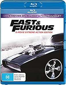 Fast & Furious: 8-movie Collection (Blu-ray)