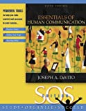 Essentials of Human Communication, S.O.S. Edition (5th Edition) by DeVito Joseph A. (2005-06-23) Paperback
