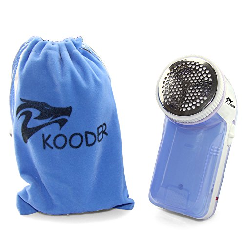 KOODER Rechargeable Sweater Fabric Shaver, Lint Remover - Blue