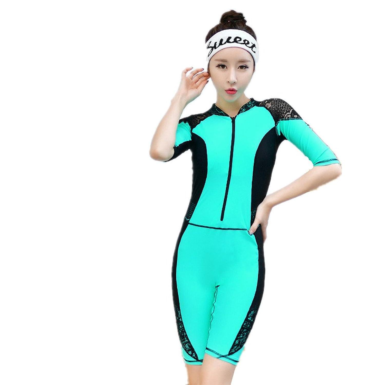 女性の 水着 エクササイズ シャム 水着 セット に適して 水泳 ウェディング エクササイズ スパ B07F19JQG9 XL