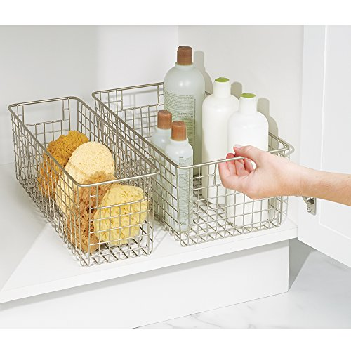 mDesign Wire Storage Basket for ...