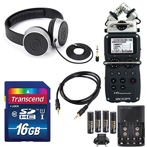 Zoom Four Track Interchangeable Microphone Headphones