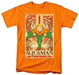 Aquaman Leaping Orange T-Shirt (L)