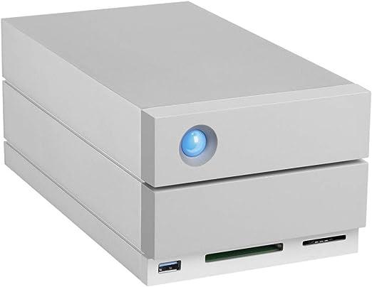 LaCie STGB32000400 外付けハードドライブシステム 32000GB RAIDとカードリーダーサンダーボルト付き USBポート付き