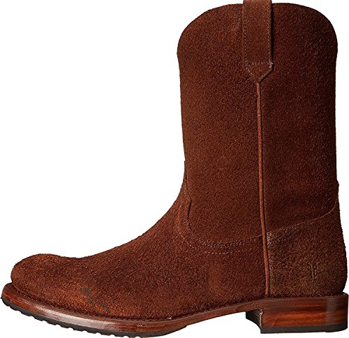 Frye Mens Duke Roper Western Boot Brown